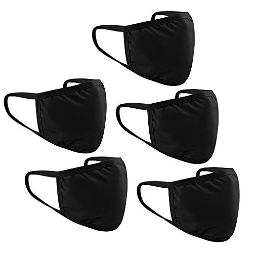 5 Pack Fashion Washable Reusable Face Shields