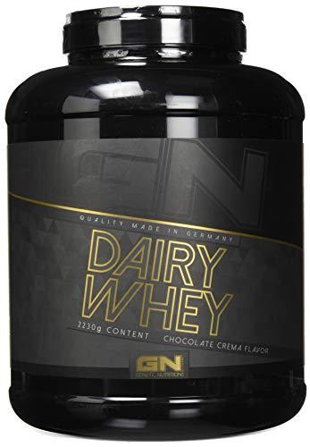 GN Laboratories 100% Dairy Whey Proteinshake Protein Eiweiß Bodybuilding Eiweißpulver (2230g Chocolate Crema - Schokolade)