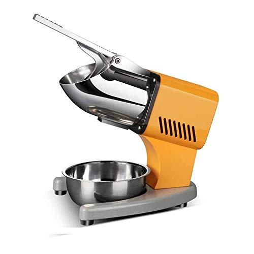 Adesign Elektrischer Ice Shaver, 200W Edelstahl-Schnee-Kegel-Maschine, EIS-Crusher w/Sichere EIN- / Aus-Schalter for die Familie, Schule, Kirche, Restaurants, Bars