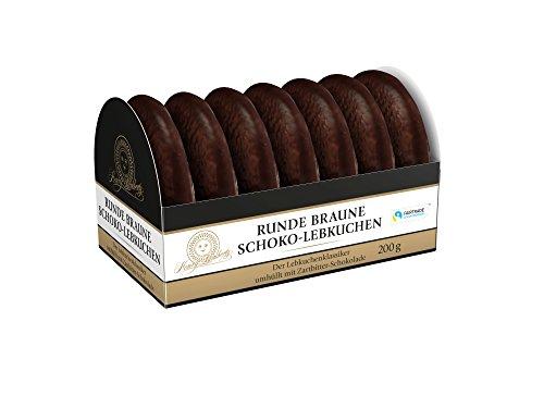 Lambertz Runde Braune Schoko-Lebkuchen, 8er Pack (8 x 200 g)