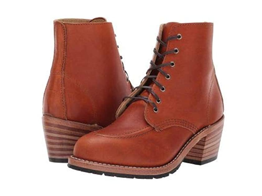 離婚シソーラス組み込むRed Wing Heritage(レッドウィングヘリテイジ) レディース 女性用 シューズ 靴 ブーツ レースアップブーツ Clara - Oro Legacy [並行輸入品]