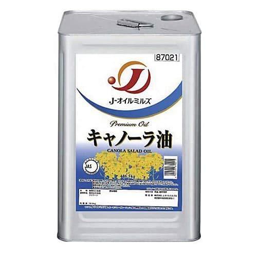 Jオイルミルズ キャノーラ油 16.5kg 缶