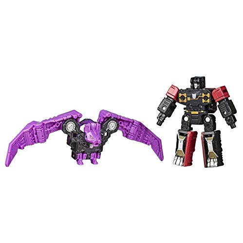 Transformers Toys Generations War for Cybertron: Siege Micromaster WFC-S46 Soundwave Spy Patrol (2nd Unit) 2-Pack - Kids Ages 8 and Up, 1.5-inch