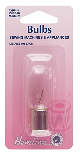 Bombilla para máquina de coser dobladillo Empujar (Bayoneta) Mediana 15w 240v