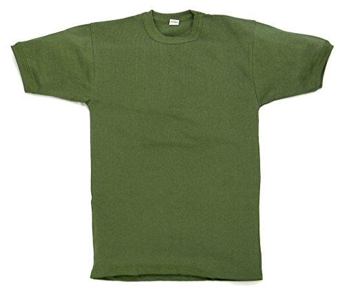 Original Unterhemd T-Shirt der Deutschen Bundeswehr Unterziehhemd Oliv in verschiedenen Größen (6/L)
