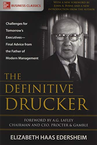 Edersheim, E: Definitive Drucker: Challenges for Tomorrow's