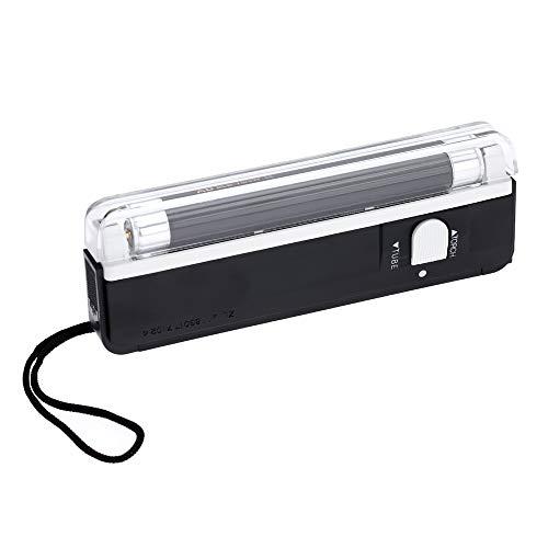 Bedler Détecteur portatif d'argent Liquide de Devise de Papier de Billet de Poche de Lampe de Torche de lumière UV portative UV Cash Detector