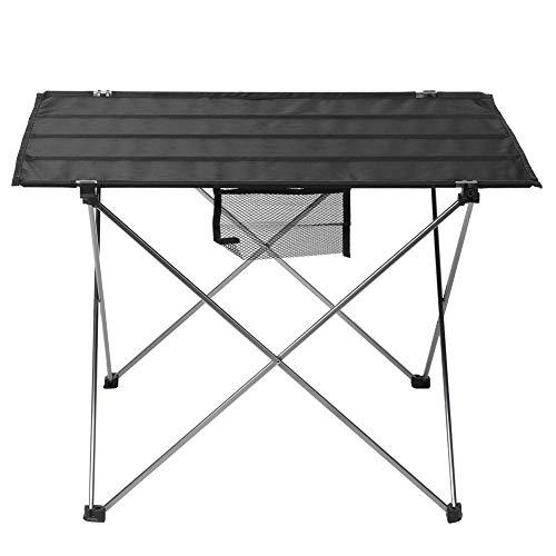 Tube en Aluminium Portable + Tissu Oxford Table de Pique-Nique Facile à Transporter, Table de Cuisson extérieure, Table de Gril Pliante, pour Camping en Plein air Beach Party