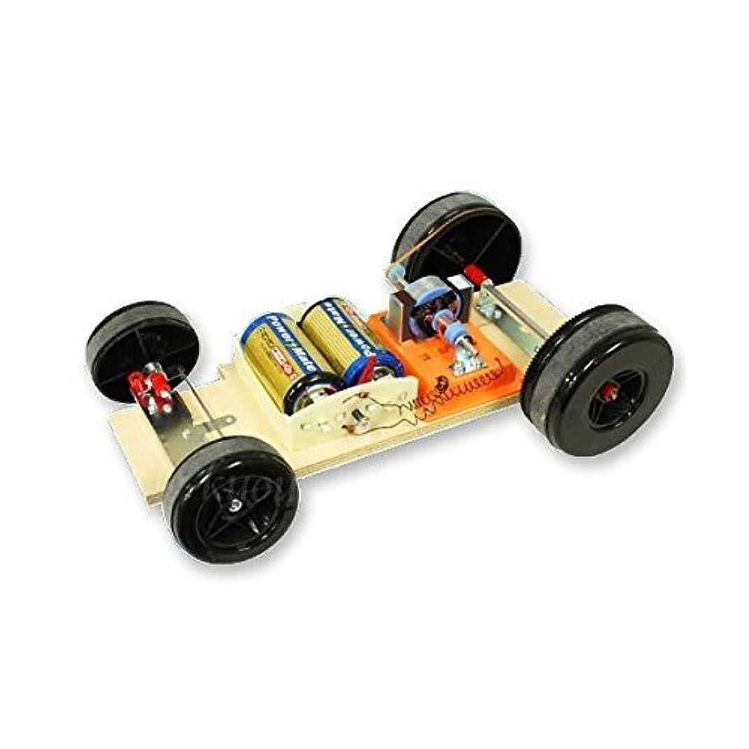 ガードストレッチダブル自動車工作セットB?3極モーター組み立て理科工作キット