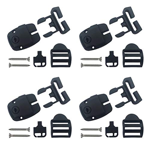 Sundance Spa Hot Tub Cover Locks with Push Button Release – Set of 4