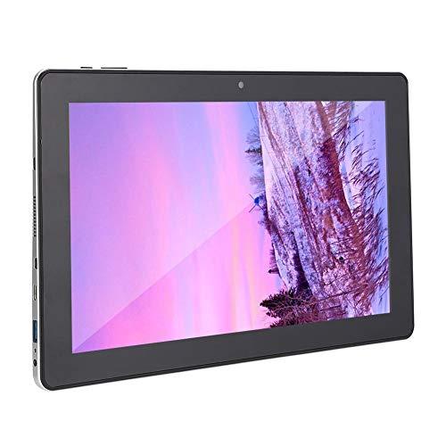 Jopwkuin Tableta de Pantalla HD IPS de 11,6 Pulgadas Tableta con Quad-Core, 6 GB de RAM ROM de 64 GB, Cámara Doble, WiFi, Bluetooth, Batería de 4500 mAh y Windows 10(Enchufe de la UE)