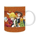 ABYstyle - THE SEVEN DEADLY SINS - Taza - 320 ml - Sins...