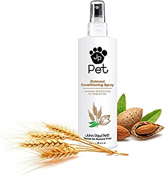Oatmeal Conditioning Spray - Grooming for Dogs and Cats Soothe Sensitive Skin Formula with Aloe for Itchy Dryness for Pets pH Balanced Cruelty Free Paraben Free Made in USA Non-Aerosol