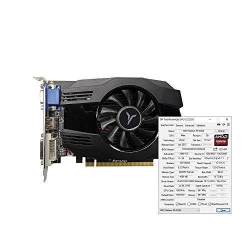 Docooler R5 240-4GD3 VA Grafikkarte DirectX11 4 GB / 64 Bit, 1333 MHz, GPU mit geringem Stromverbrauch