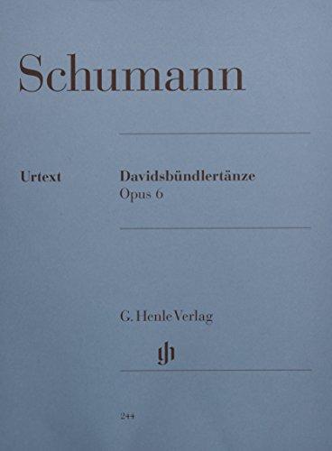 Davidsbündlertänze op. 6; Klavier