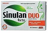 Sinulan Duo forte, 60 Tabletten - für obere und untere Atemwege, erkältung, nebenhöhlenentzündung, schleimlöser bronchien, erkältungstee, erkältungsmittel