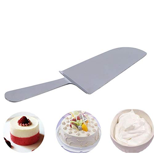 Cngstar Cake Pizza Spatula Shovel Turner Stainless Steel BBQ Grill Griddle Spatulas Transfer Shovel for Cooking,Salad,Meat