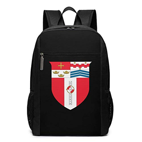 ZYWL Rensselaer Polytechnic Institute University Premium 17-Zoll-Reise-Laptop-Rucksack, Büchertasche, Business-Tasche