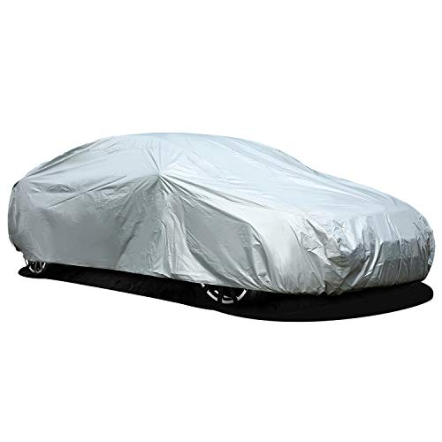 Car Cover for Sedan, Ohuhu Universal Sedan Car Covers Windproof Dustproof Scratch Resistant Outdoor...