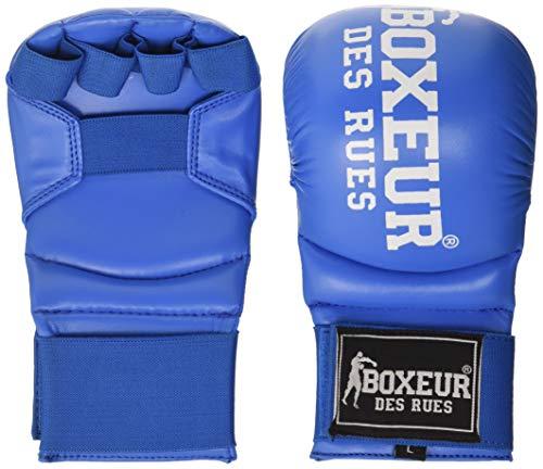 Boxeur Des Rues BXT-5141 - Guantes de kárate y fit box, Azul, L