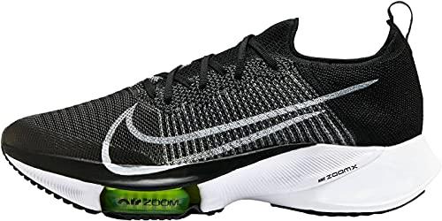 Nike Air Zoom Tempo Next% FK, Scarpe da Corsa Uomo, Black/White-Volt, 43 EU