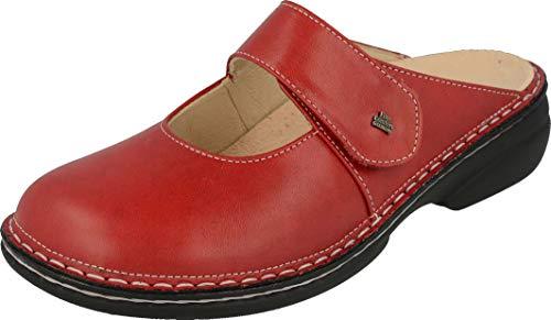 Finn Comfort Damen Stanford Clogs, Rot (Red), 39