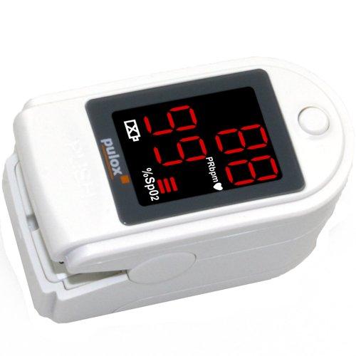 Pulsoximeter PULOX PO-100 Solo in Weiß