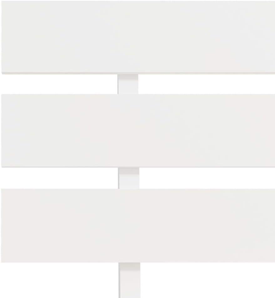 Festnight Struttura Letto Singolo Moderno in Legno Massello,Giroletto Singolo Moderno in Legno Massello di Pino,Letto Moderno,Struttura Letto Moderno 90x200 cm