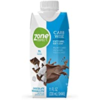 12-Count ZonePerfect Carb Wise High-Protein Shakes with 30g Protein, 11 fl oz