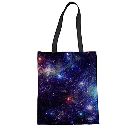 Coloranimal , Damen Tote-Tasche Starry Night Stars