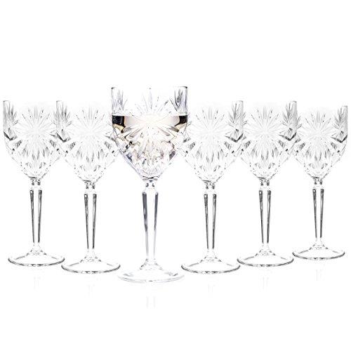 Verres à vin en cristal Oasis RCR 26325020006, lot de6