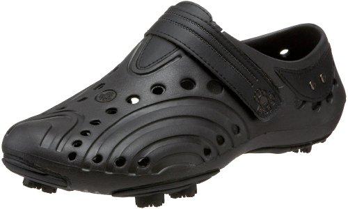 DAWGS Men's Spirit MGS Golf Shoe,Dark Brown/Black,10 M US