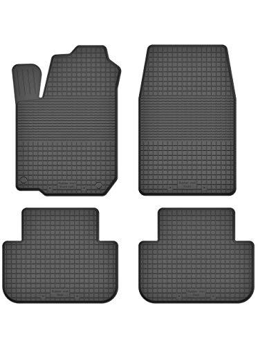 Gummi-Fußmatten+Kofferraumwanne TOYOTA LAND CRUISER J120 5-türig 2002-2009
