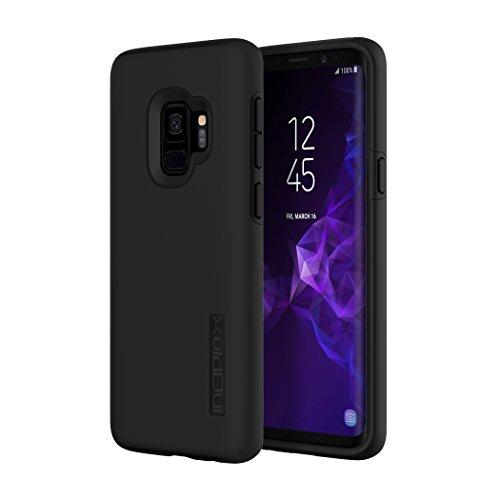 Incipio DualPro Case für Samsung Galaxy S9 - von Samsung zertifizierte Schutzhülle (schwarz) [Extrem robust I Stoßabsorbierend I Soft-Touch Beschichtung I Hybrid] - SA-921-BLK
