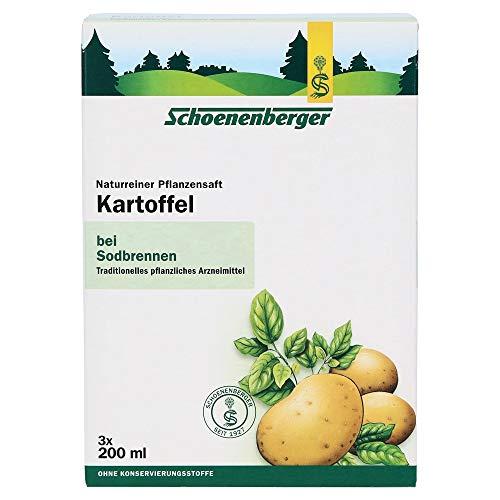 Schoenenberger Kartoffel naturreiner Pflanzensaft, 3x200 ml Lösung