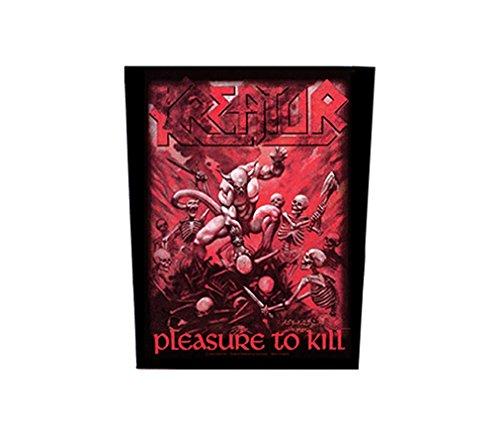 Kreator Rückenaufnäher - Pleasure To Kill - Kreator Backpatch