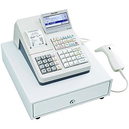 シャープ 電子レジスタ 20部門 スキャナ付 XE-A280