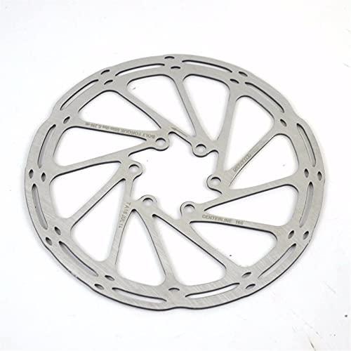 KSHYE Bicicleta de Freno de Disco Central de Acero Inoxidable línea de línea de Freno Rotor de Disco (Color : 203mm)