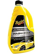 Meguiar's Ultimate Car Wash and Wax 1.4L, G17748, H10.375 X W6.125 X D2.875 inches