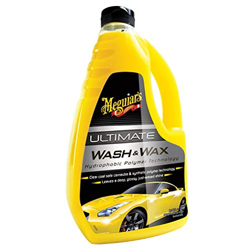 Meguiar's Car Care Products G17748 Ultimate Wash & Wax Champú de coche con cera