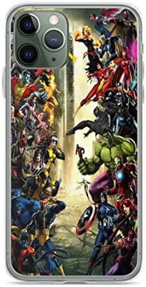 Phone Case Avengers Vs X Men Compatible with iPhone 6 6s 7 8 X XS XR 11 Pro Max SE 2020 Samsung product image