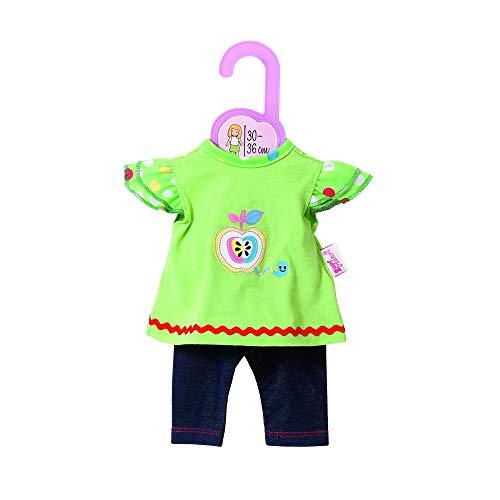 Zapf Creation 870112 - Dolly Moda Shirt mit Leggings, 30-36 cm