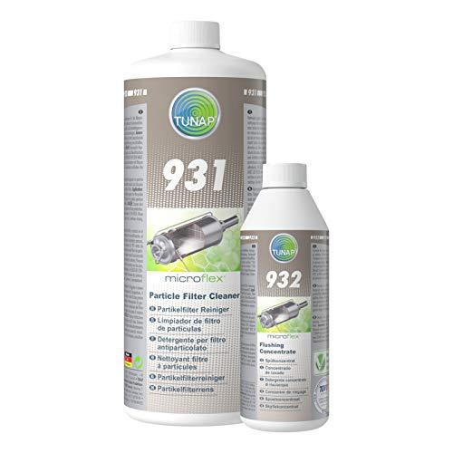 Ensemble pratique. Tunap micrologic Premium 131 Filtre à particules diesel DPF Nettoyant + 132 DPF spülung + 184 DPF Protection
