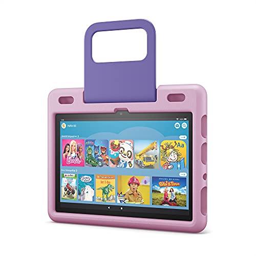 Kindgerechte Hülle von Amazon für das Fire HD 10-Tablet (nur kompatibel mit Tablets der 11. Generation, 2021), lavendel