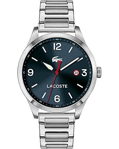 Lacoste Reloj Cosa análoga para de los Hombres de Cuarzo con Correa en Acero Inoxidable 2011108