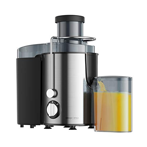 """Shi xiang store Centrifugal Juicing Machine, Cold Press Juicer 2 Speed with 2.5"""" Feed Chute for Whole Fruit Vegetable, Juicer Machine with Extractor Easy to Clean (Color : Silver)"""