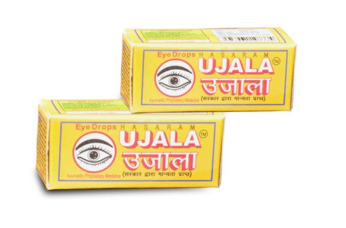 UJALA EYE DROPS - 100% Herbal - Free Ship - Lowest Price - Eyes Health_Pack of 10 Each 10 ml
