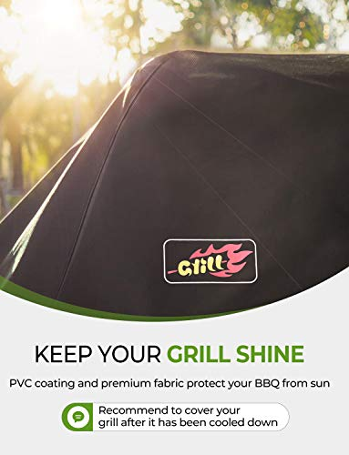 OMorc Gas Grill Cover, 58-Inch 3-4 Burner - Medium 147cm