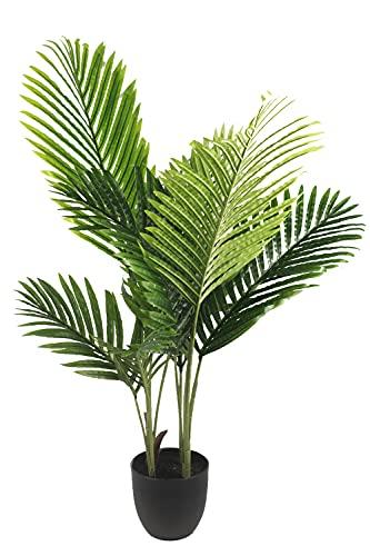 Arnusa Künstliche Palme 90cm KP111 Kunstpflanze Kunstpalme Zimmerpflanze Topfpflanze Dekopalme