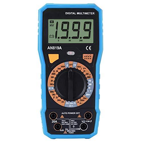 DC AC Tensione Corrente Termocoppia Termometro Amperometro portatile Multimetro Volt Ohm Meter per laboratori per la casa(#5)